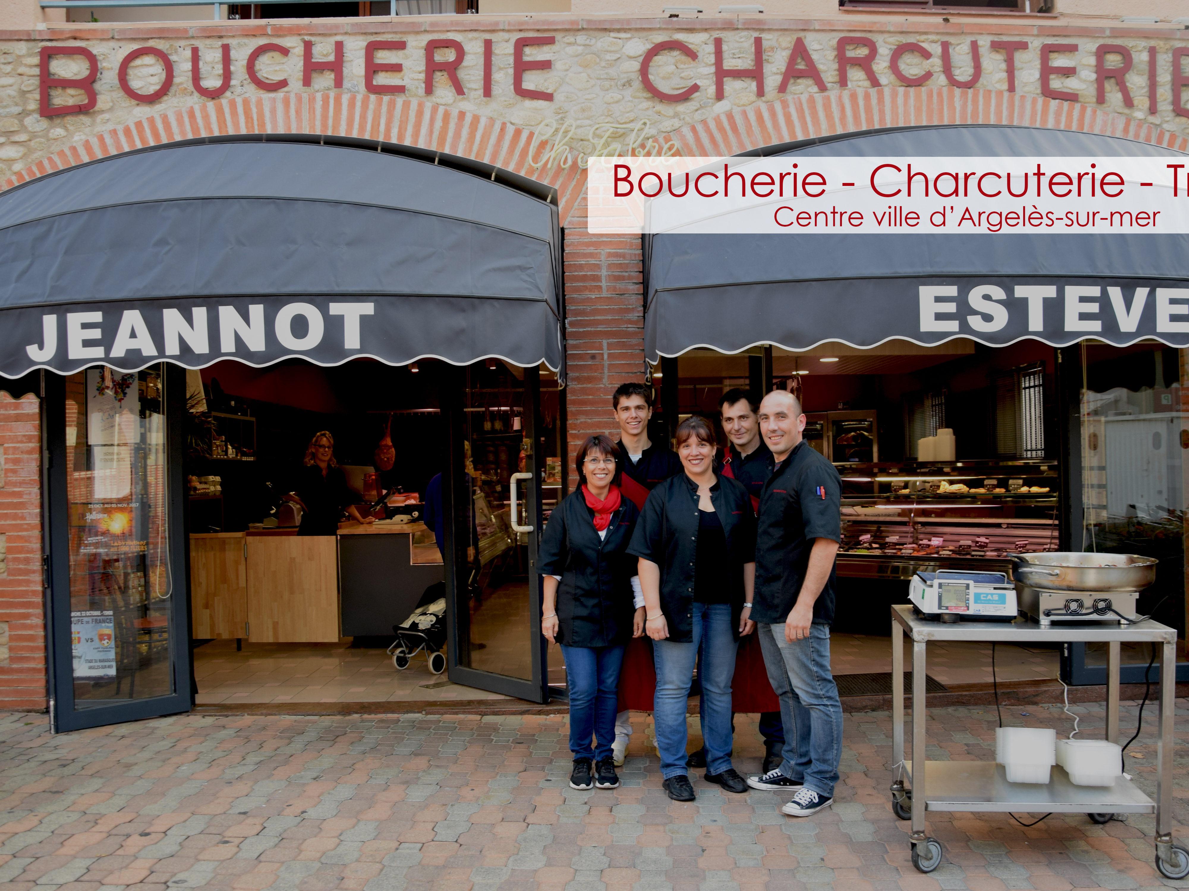 Présentation de l'equipe Boucherie-charcuterie-traiteur-Jeannot-Esteve-Argelès-Argeles-sur-mer