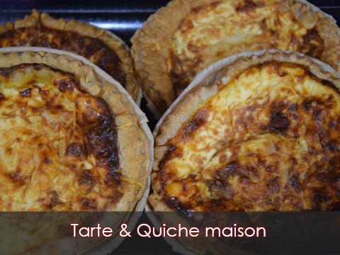 Tarte & Quiche maison Boucherie-charcuterie-traiteur-Jeannot-Esteve-Argelès-Argeles-sur-mer