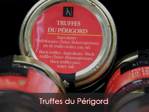 Truffes du Périgord Boucherie charcuterie traiteur Jeannot Esteve à Argeles sur mer